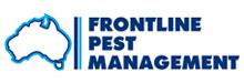 Frontline Pest Management logo.